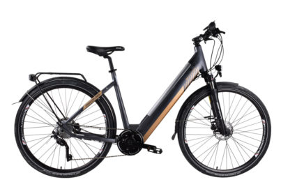 Allegro E-Trekkingbike Urban Explorer Black right