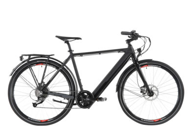 Allegro City E-Bike Invisible Street ARIM°02 Black right